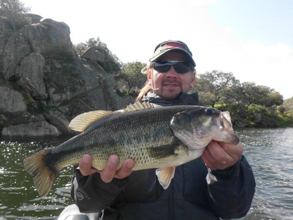 Le reste des poissons étaient compris entre 40 et 45 cm, une taille très correcte.