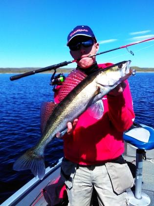 Sandre Black bass Brochet Extremadura Espagne (1)